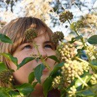 портрет Лизы в кустах.... ) хэллоуин :: Елена Мартынова