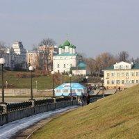 Пейзажи Чебоксар :: Ната Волга