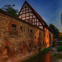 старая мельница в закатных лучах :: Andrej Winner