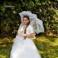 Невеста. Прогулка в Кусково. :: Иван Бобков