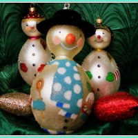 семья снеговиков :: Ольга