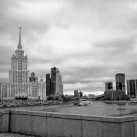 Вид на отель Radisson,Москва. :: Маry ...