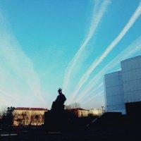 Полосы на небе :: Anna Koldman