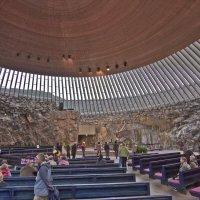 Интерьер церкви в скале :: Александр Рябчиков