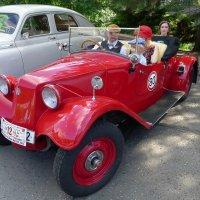Ретро автомобиль Татра Tatra T57 Sport Cabrio :: Евгений Кривошеев