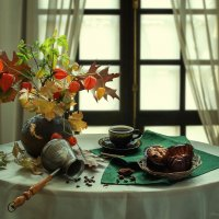 Кофе с ароматом осени :: Ирина Приходько