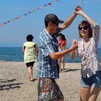 Пляжные танцы :: Елена