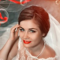 свадебный портрет :: Zhanna Abramova