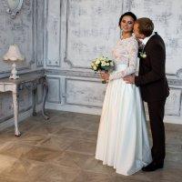 Свадебная съёмка в студии. :: Александр Лейкум