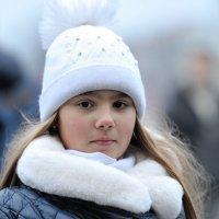 Белая шапочка. :: Leonid Volodko