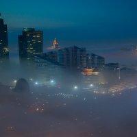 Туман в Астане :: Максим Рожин