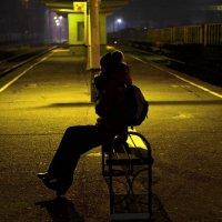 В ожидании ночной электричке :: Александр Клименко