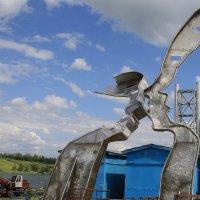 """Скульптура  """"Небесный  поцелуй"""" :: Валерия  Полещикова"""