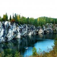 мраморный каньон :: Ольга Cоломатина