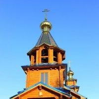 Деревянный храм. :: Валентина ツ ღ✿ღ