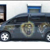 Зверское такси (у Ижевского цирка) :: muh5257