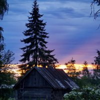 закат :: Ольга Cоломатина