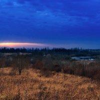 Ноябрьский закат. 06. :: Анатолий Клепешнёв