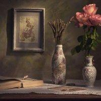Серо-розовый вечер. :: Svetlana Sneg