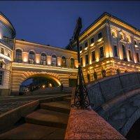 Эрмитажный мост :: Лариса Шамбраева