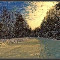 Зимний тракт :: Sergey Miroshnichenko