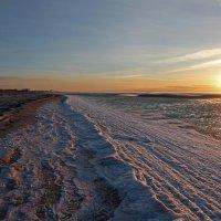 Северодвинск. Белое море. Закат на отливе :: Владимир Шибинский