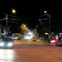 Ночная улица :: Алексей Golovchenko