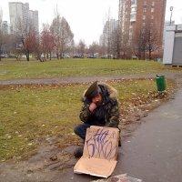 Сторож станции м. Южная (1) :: Олег Россаль