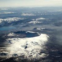 Пролетая над Арменией...(на высоте 10 500метров). :: Александр Вивчарик