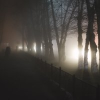 Туман в Павлодаре (4) :: Артём Брав