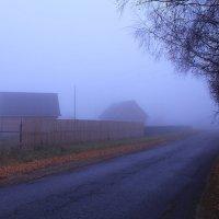 Осени туманы - явь  ... или обманы :: Татьяна Ломтева