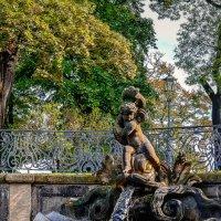 Фонтан у Дрезденской галереи старых мастеров :: Ксения Базарова