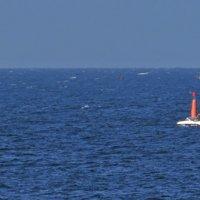 Вид с Толстого мыса на Чёрное море 2 :: Валерий Дворников