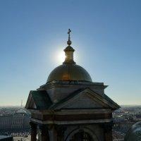 Вид с колоннады. Исаакиевский собор. :: Владимир Гилясев
