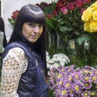 Продавец цветов :: Владислав Сбитнев