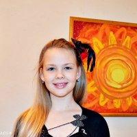 Даря Брюхович, юна художниця :: Степан Карачко