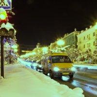 Зима, ночь. :: Борис Швец