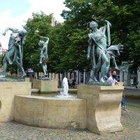 Танцующий фонтан «Чешские музыканты» :: Наиля