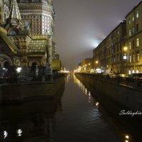 Ночной канал Санкт-Петербурга :: Алексей Салдайкин