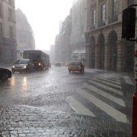 Брюссель, дождь :: Борис Соловьев