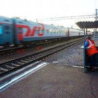 встречая поезд :: Алексей Белик