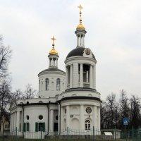 Церковь Влахернской иконы Божией Матери в Кузьминках. :: Александр Качалин