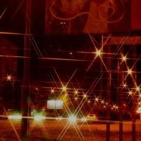 Ночной  г Абакан :: Виктор