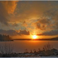 зимний закат :: Сергей Швечков