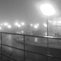 город в тумане :: Наталья Дмитриева