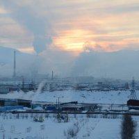 Норильск. Норильский промышленный район. Последний солнца луч... :: victor maltsev