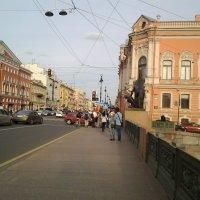 Летний вечер на Невском проспекте. :: Жанна Викторовна