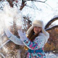 Снег в октябре :: Юлия Каразанова