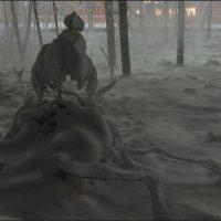 В ночном парке-2 :: Игорь Чубаров