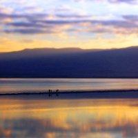 Рассвет на Мёртвом море. :: Рустам Илалов